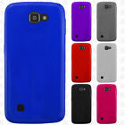 For LG Rebel 4G LTE L44VL Frosted TPU CANDY Gel Flexi Skin Case Cover Accessory
