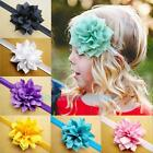 10PCS Kids Baby Girls Infant Toddlers Flower Headband Hair Bow Band Accessories