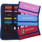 Personalised Pencil Case with Pencils and Colours - Perfect for school