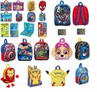 Boys Girls TV & Movie Character Back To School Book Bag Backpack Rucksack Gift