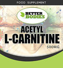 Acetyl L-Carnitine 1500mg per serving High Strength Muscle Gain Weight Loss UK