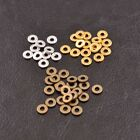 6/8MM Tibetan Silver/Gold Rings Spacer Beads Jewelry Findings 100Pcs C3036