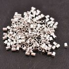100Pcs Tibetan Silver Tube Charm Spacer Beads Jewelry Findings C3043
