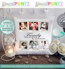 """16""""X16"""" PERSONALISED GIFT CUSHION ADD ANY PHOTO FAMILY COLLAGE CHRISTMAS WEDDING"""