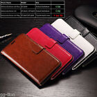 Card-Slot Flip Wallet Leather Case Cover For Motorola Moto G4 Plus, XT1644