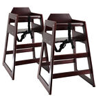 deAO Stackable Wooden Baby Feeding High Chair Highchair Seat Home Restaurants <br/> Solid Hardwood✔Lowest Price on Ebay✔Fast Delivery✔