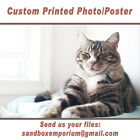 "24x36"" Your Photo Custom Poster Printed Canvas Glossy Luster"