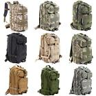 30L Hiking Camping Climbing Bag Army Military Tactical Backpack Camo US