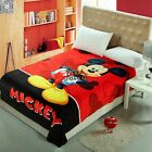 The Mickey Mouse Blanket Single Size Bed Linen Super Warm Soft Comforter Flannel