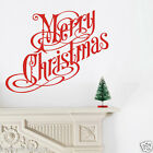 Merry Christmas Xmas Decal Removable Wall Art Stickers Vinyl Home Kids Decor