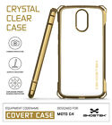 For Motorola Moto G4 Case | Ghostek COVERT Clear Shockproof Protective Cover