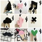Cute Wooden Clothes Hook For Kids Room Wall Decorate Children Room Hanger Hook