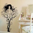 DIY Bubbles/Tree Girl Removable Wall Sticker Art Vinyl Decal Decor Mural Sticker