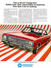 1967 Dodge Dart - Promotional Advertising Poster $9.99 USD on eBay