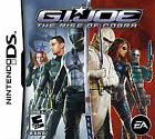 G.I. Joe: The Rise of Cobra (Nintendo DS, 2009) Replacement Case and Manual