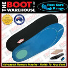 Insoles Innersoles Footbeds! Advanced Memory Foam.  Maximum Comfort & Support