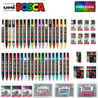 Uni Posca PC-3M 1.5mm Paint Marker Pen Fabric Metal Glass Fine Nib *32 Colours*