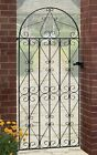 Regent Tall Bow Top Scroll Garden Gate fits 762 to 1067mm GAP Galvanised Metal