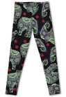 Elephants! New women Leggings! plus size NEW! Skeleton pants