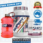 EHPLABS ISOPEPT ZERO 2LB + EHP LABS OXYSHRED LEAN MUSCLE STACK FREE SHAKER