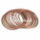 100pcs 0.6mm 60mm Memory Steel Wire Cuff Bangle Bracelet DIY Jewelry Wholesalle