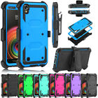 For LG X Power /LS755/K450 Case Shockproof Armor Hybrid Rubber Hard Phone Cover