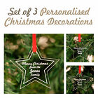 Christmas Tree Decorations Star Personalised - cutexx
