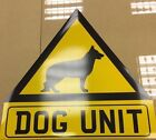 Reflective Magnetic Dog Unit Triangle Sign