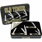 SCHRADE / OLD TIMER - 2016 KNIFE SET - 3 PIECE SET WITH GIFT TIN