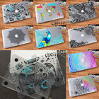 Clear Painting Hard Rubberized Case Cover For Reina New Macbook Laptop +KB Cover