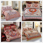 New Floral Quilt Doona Duvet Cover Set Double/Queen Size Bed National Style