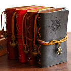 Vintage Classic Retro Leather Journal Travel Notepad Notebook Blank Diary Memo S