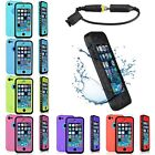 WATERPROOF SHOCKPROOF DIRT PROOF CASE COVER FOR APPLE IPHONE 5G 5S 5C 6 & 6 PLUS