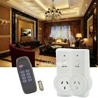 4/3/2/1pcs  2Pack AU Plug Smart Wireless Remote Control Socket Power Outlets