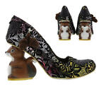 Irregular Choice Nibbles McNutty Womens Squirrel High Heels Shoes Size UK 4-8