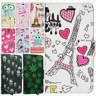For Samsung Galaxy Luna Premium Leather Wallet Pouch Flip Cover + Screen Guard