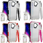 For Samsung Galaxy Luna Premium Wallet Case Pouch Flap STAND Cover