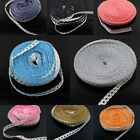 10 Yard Cotton Lace Trims Crochet Belt Ribbon Sewing for Costume Underwear Dress