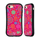HEAD CASE DESIGNS PSYCHEDELIC PAISLEY HYBRID CASE FOR APPLE iPHONE 7