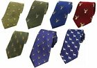 Range Of Stag Country Silk Ties