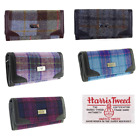 New Womens Fashion Harris Tweed Ladies Long Wallet/Purse in Range of Tartans