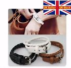 black white brown ADJUSTABLE braided multi BANGLE BRACELET oneashion SIZE buckle