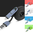 New Sync Data Charger Adapter Cable For Phones IOS 8.1 & Android 39.4'' Cables