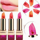 Lady 3 Color Jelly Flower Color Chang Moisture Lasting Moisture Lipstick Gift