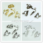 Wholesale Jewelry Four color Earrings accessories Triangle Spring Ear Clip pick