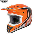 Fly Racing 2017 Full Speed MX Motocross Enduro Off Road Helmet Childrens Orange