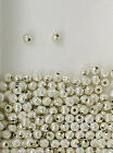 925 Sterling Silver 4mm Corrugated Round Spacer Beads, Choice of Lot Size-Price