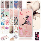 Pattern Ultra Slim Soft TPU Rubber Clear Back Case Cover For iPhone 6s 7 7 Plus
