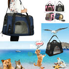 Pet Carrier Soft Sided Large Cat / Dog Comfort Travel Tote Bag Airline Approved