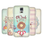 HEAD CASE DESIGNS MY KIND OF SUMMER SOFT GEL CASE FOR SAMSUNG GALAXY S5 / S5 NEO
